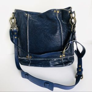 NWOT WILL Blue Large Cross Body Messenger Bag